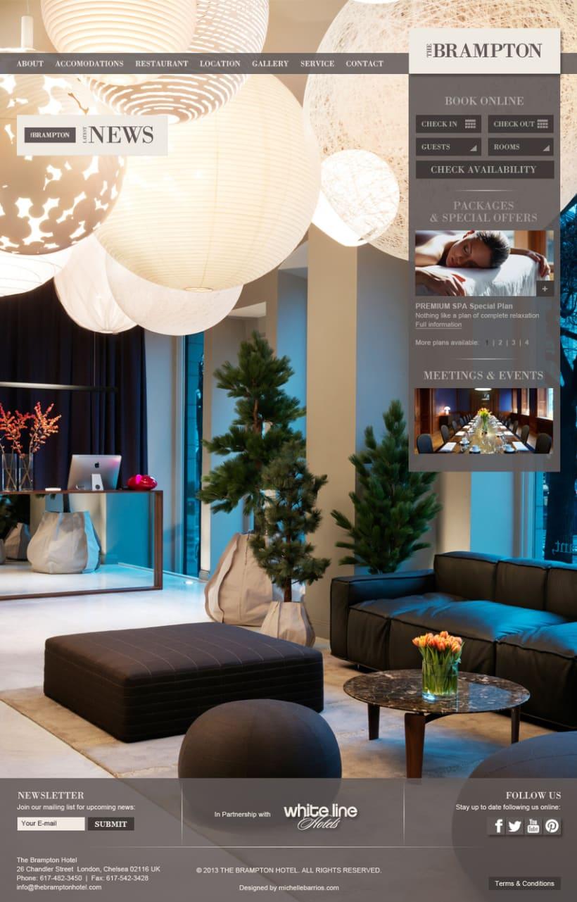 Web   Hotel de lujo 3