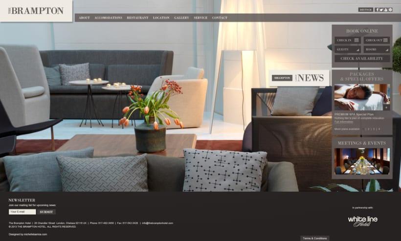 Web   Hotel de lujo 2