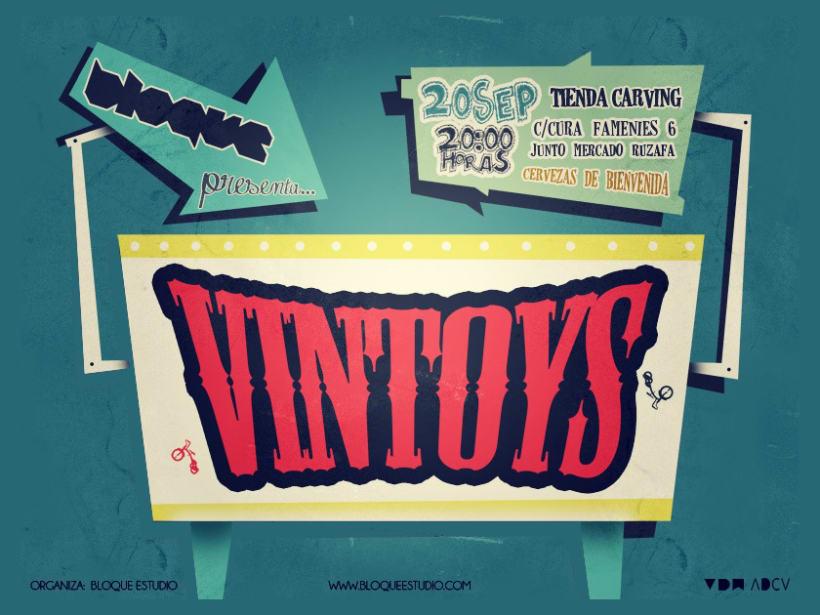 Cartel Presentacion - Vintoys (VDW2012) 2