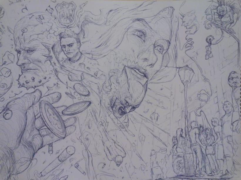 Bocetos del dia a dia 4