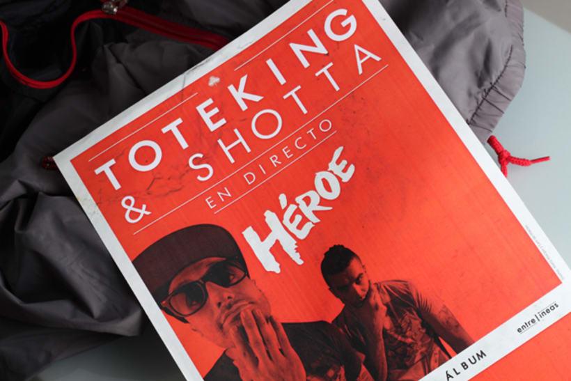 Héroe | Toteking & Shotta | Álbum 12