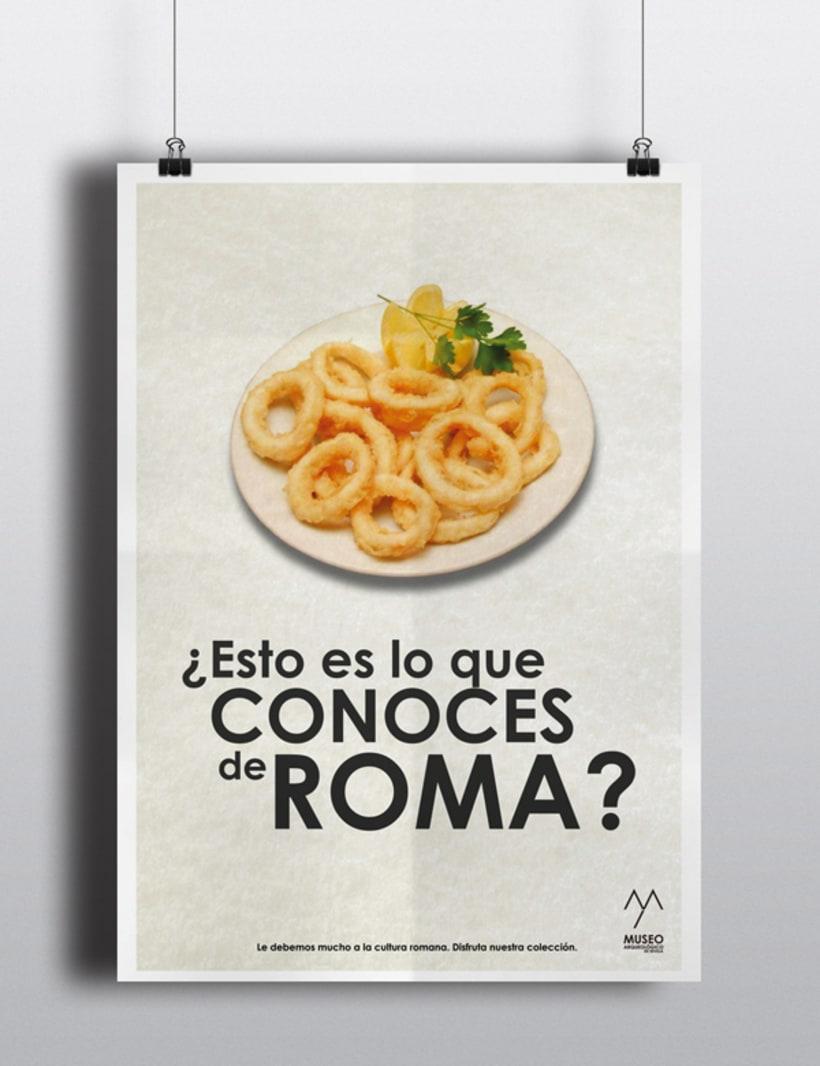 Campaña publicitaria Museo Arqueológico de Sevilla 3