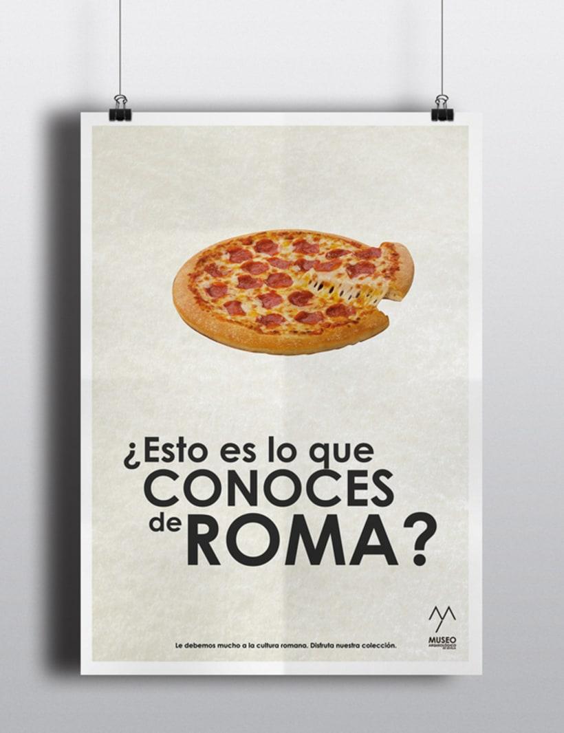 Campaña publicitaria Museo Arqueológico de Sevilla 4