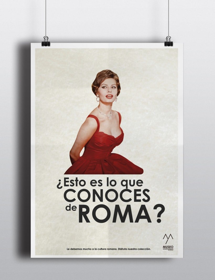 Campaña publicitaria Museo Arqueológico de Sevilla 5