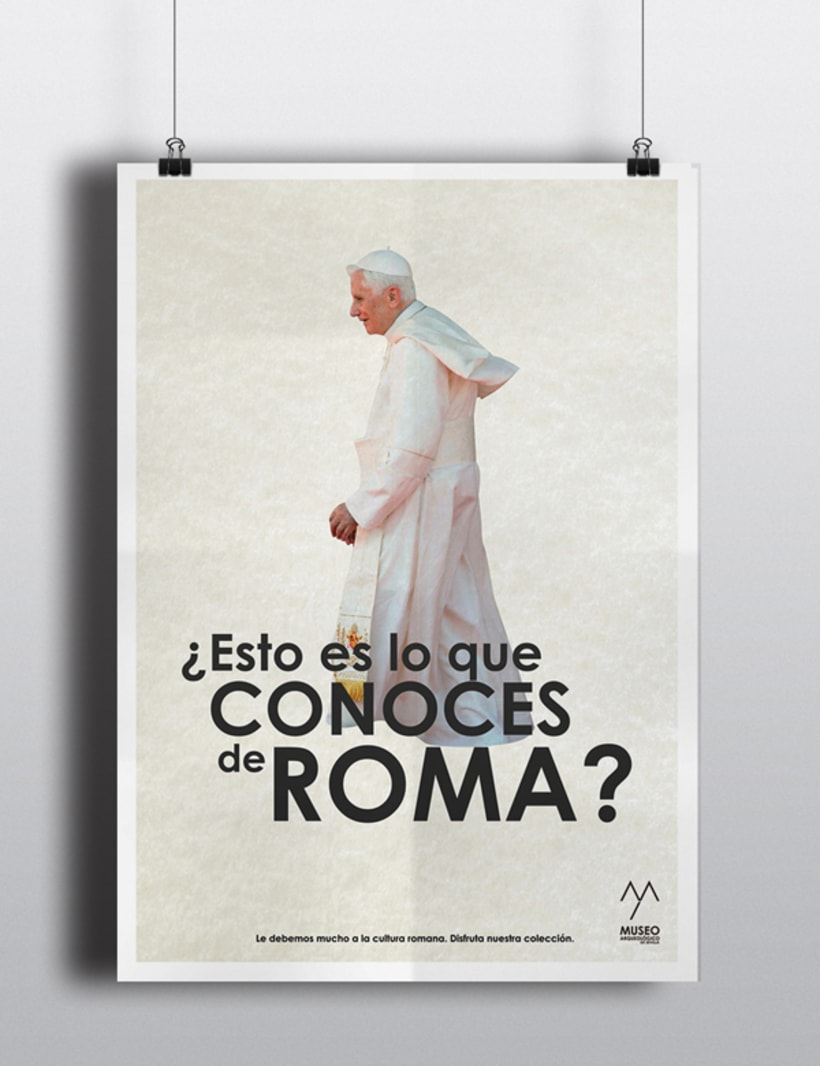 Campaña publicitaria Museo Arqueológico de Sevilla 6