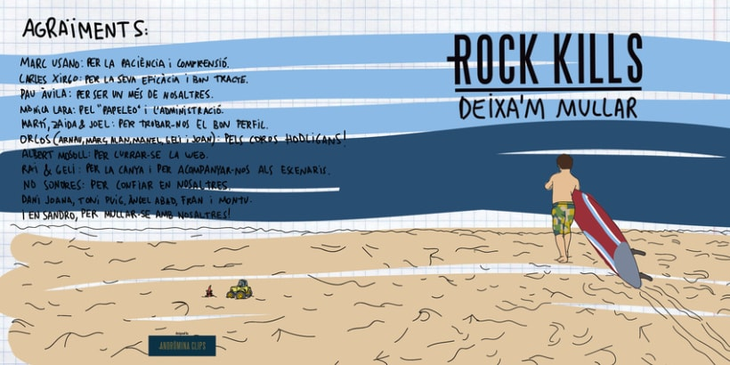 """""""Deixa'm mullar"""" Rock Kills 11"""