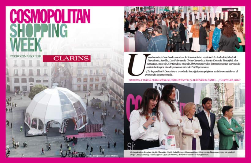 Cosmopolitan Shopping Week 0