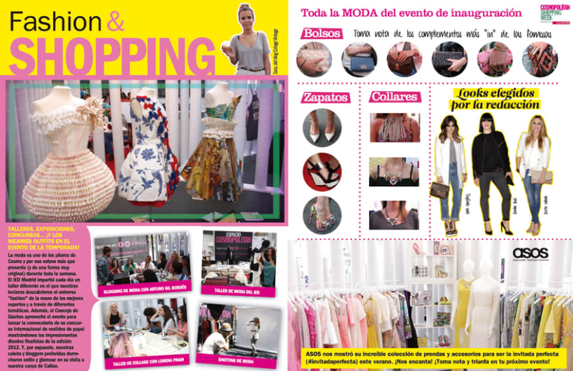 Cosmopolitan Shopping Week 2