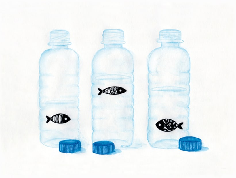 Fishes and bottles 1