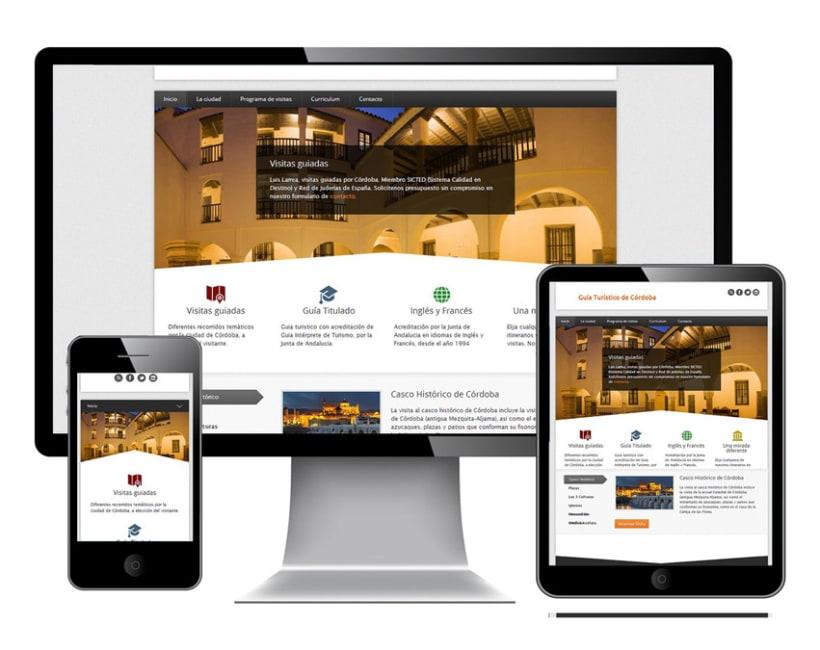 Responsive Web Design   Project Guía Turístico 2