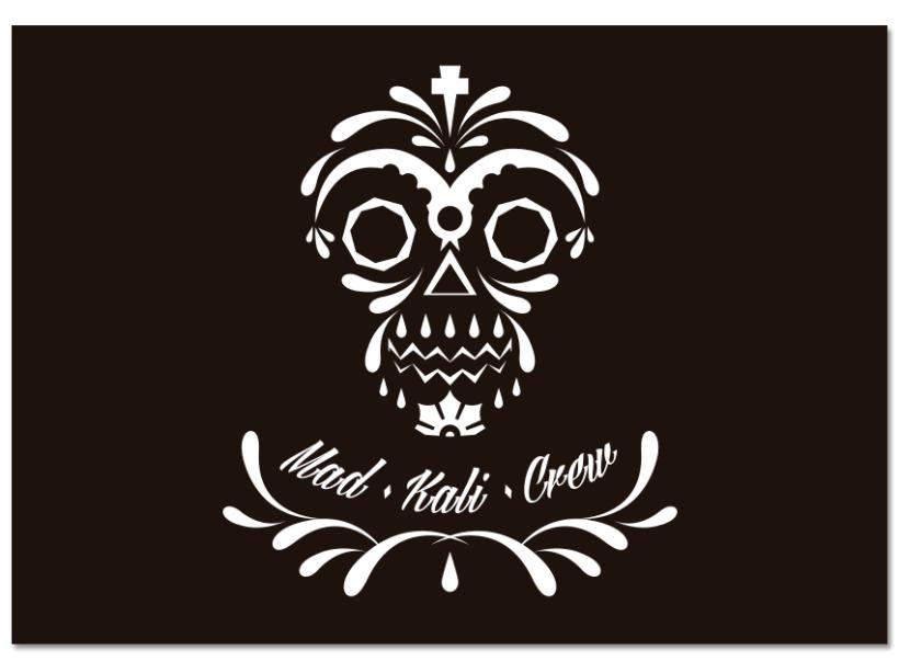 MAD·KALI·CREW - Logo & Merch 1