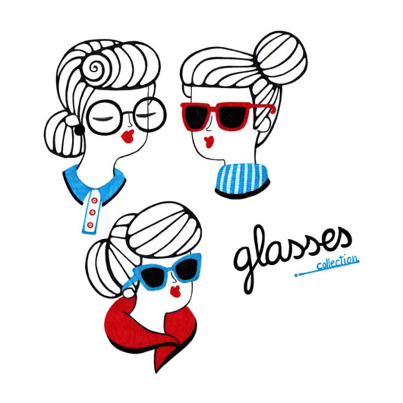 Women and Glasses 1