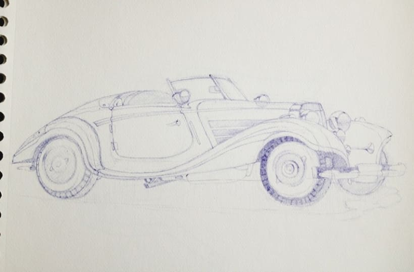 Ilustraciones con bolígrafo (1º Fase) 3