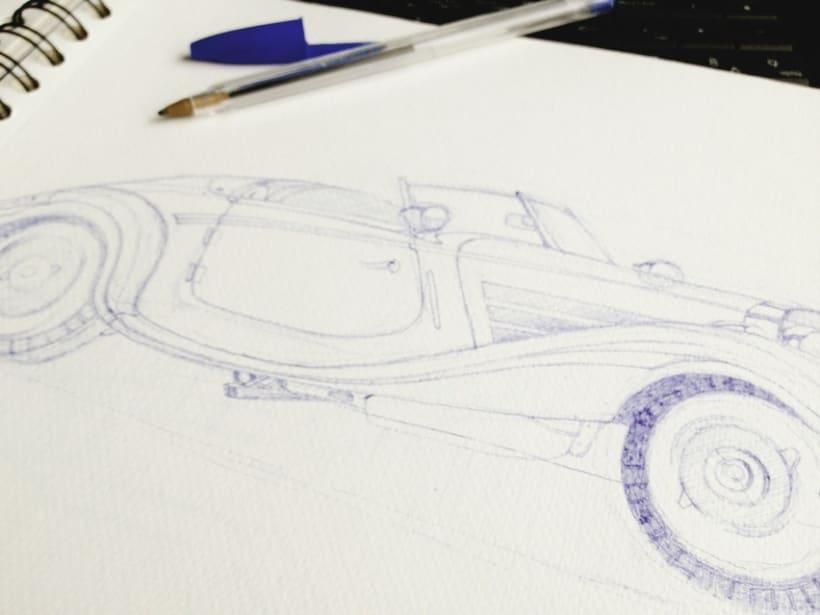 Ilustraciones con bolígrafo (1º Fase) 2