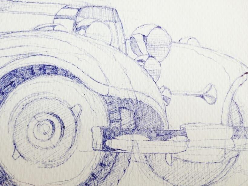 Ilustraciones con bolígrafo (1º Fase) 4