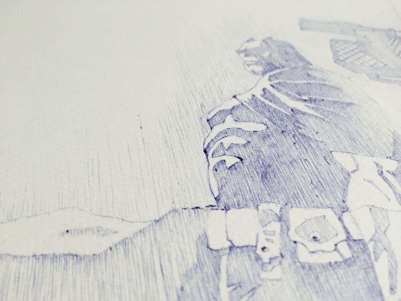 Ilustraciones con bolígrafo (1º Fase) 1