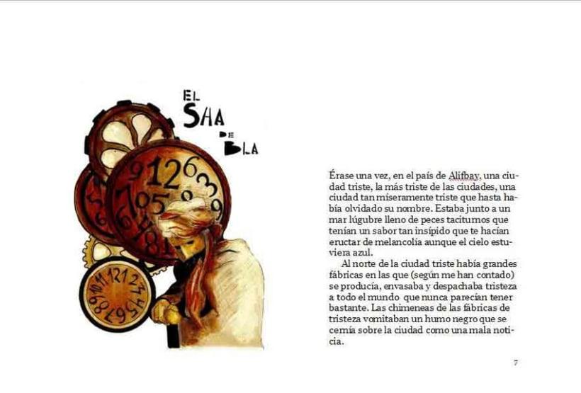 Proyecto de Ilustraciones para libro. 6