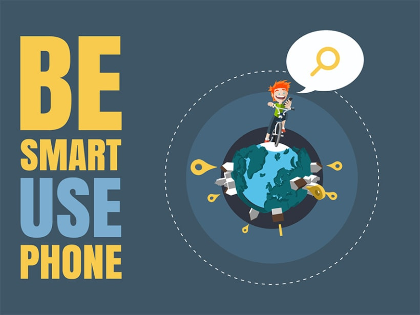 Be smart, use phone 1