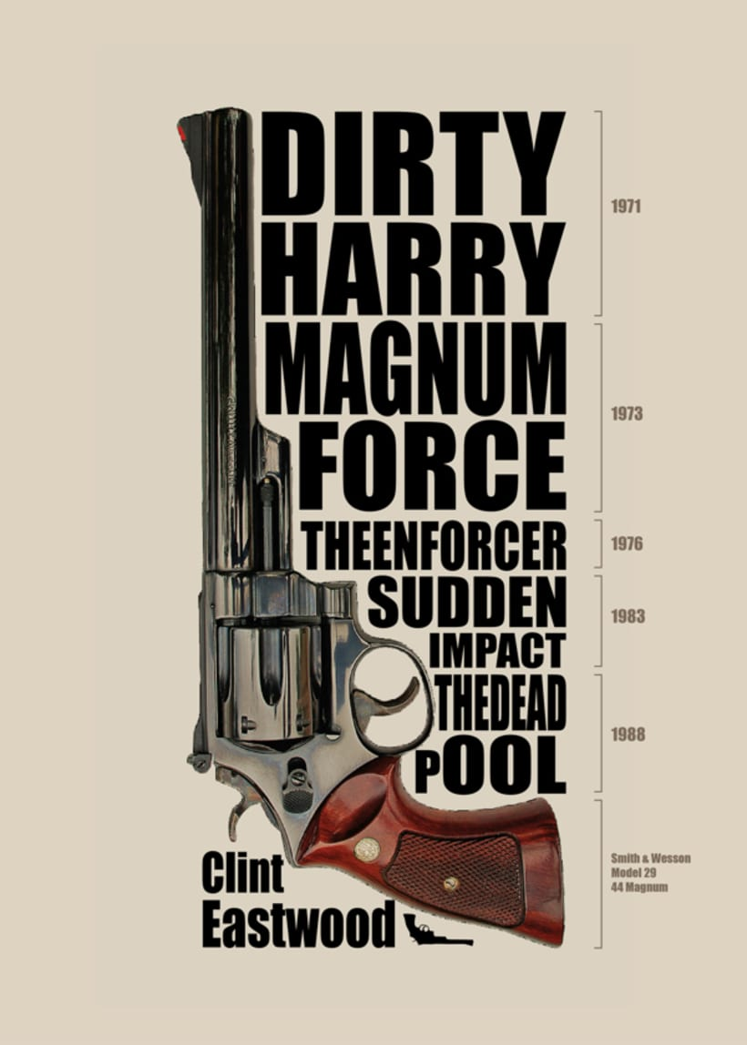 Clint Eastwood - Dirty Harry 1