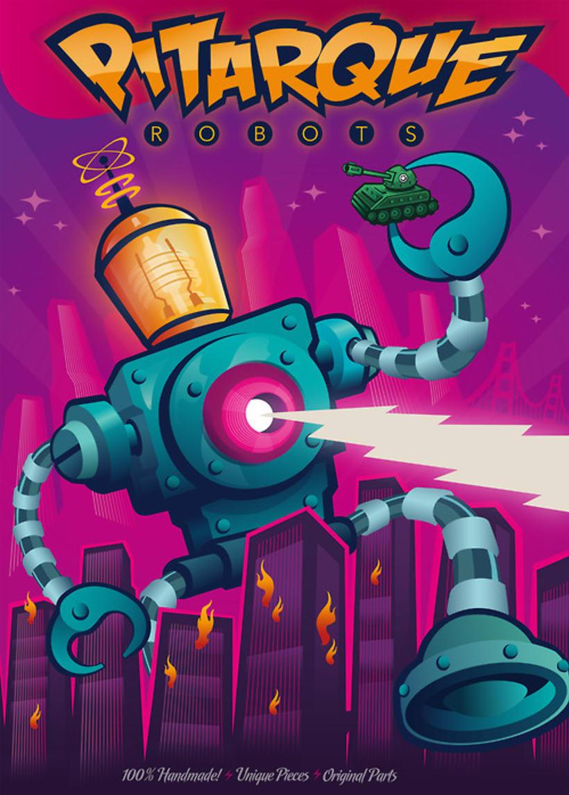 Pitarque Robots Poster 1