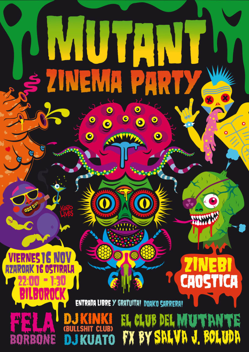 Mutant Zinema Party 1