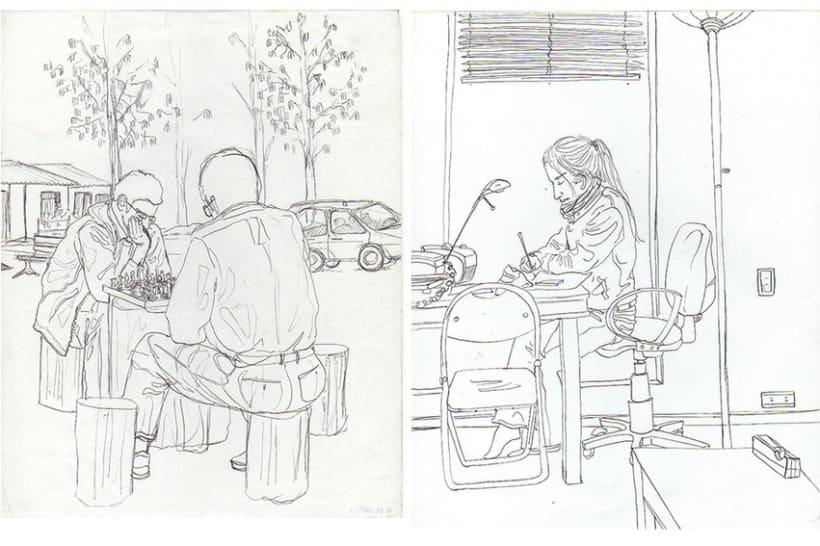 Ilustración Línea 8