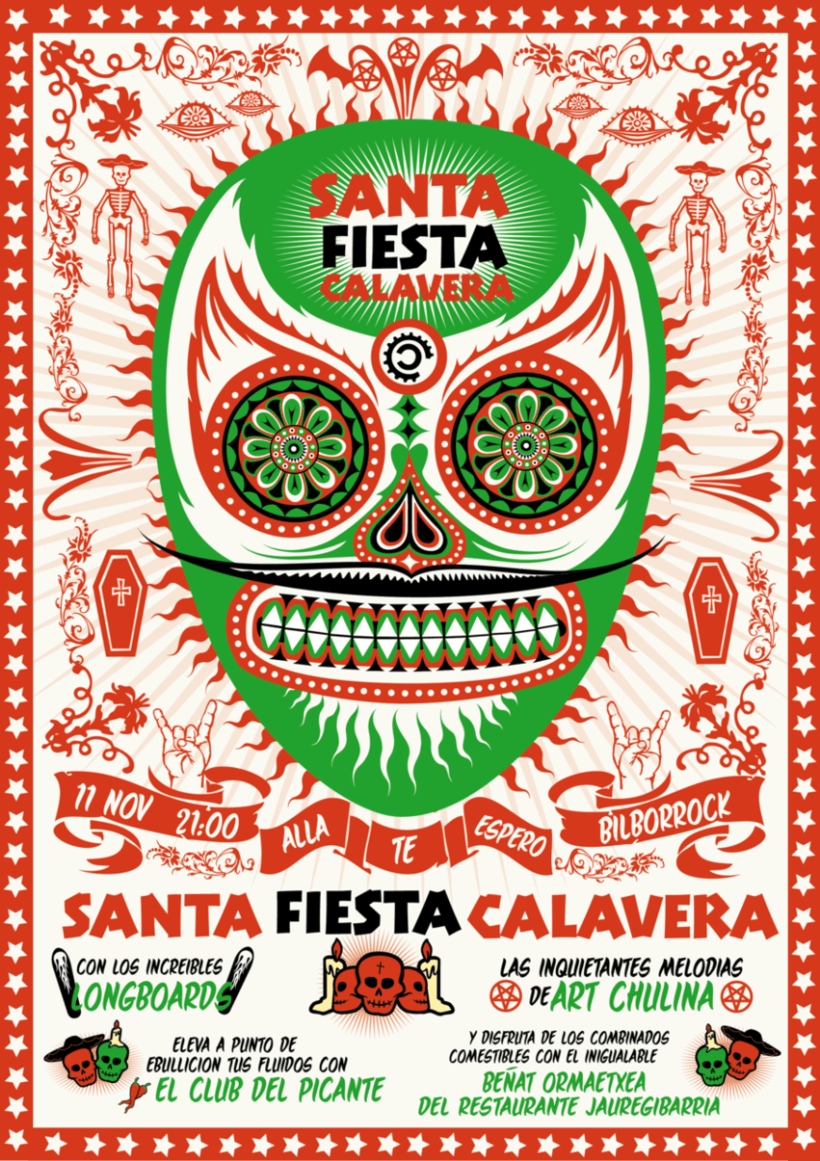 Santa Fiesta Calavera 1
