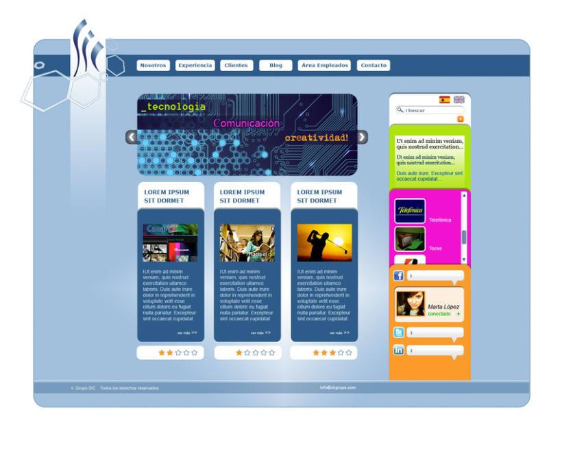 Diseño / Web Design 8