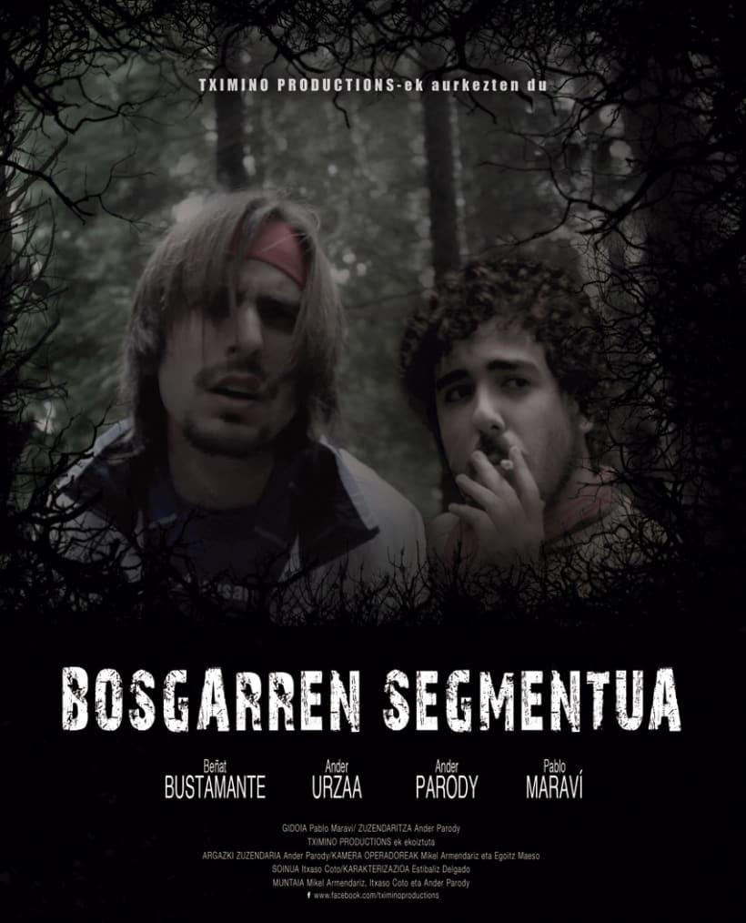 Diseño de cartel y dosier para cortometraje  1