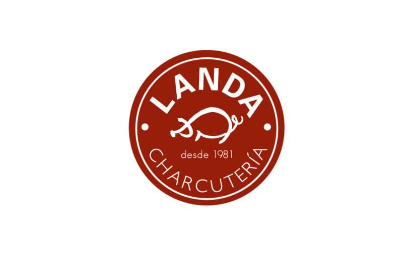 Identidad Corporativa Charcutería Landa 1