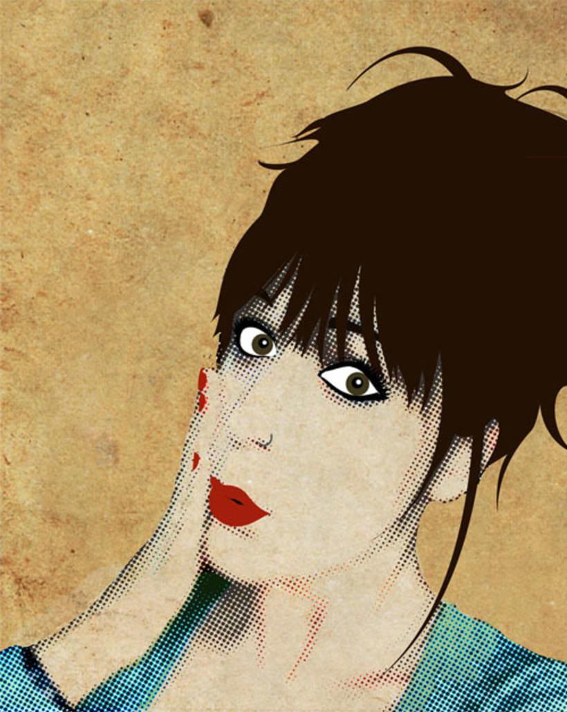 Autorretrato Pop Art 1