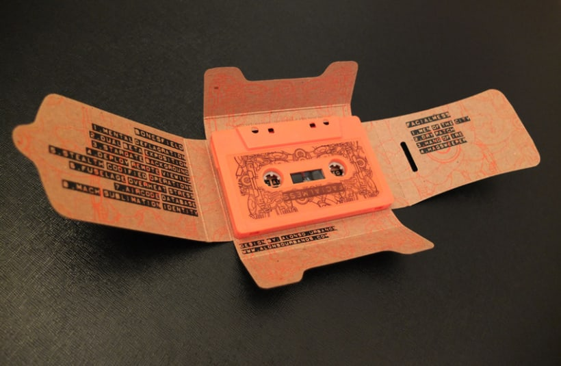 Cassette Special 100% PCW recycled chipboard 6