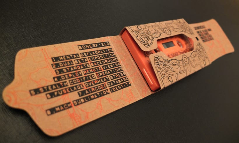 Cassette Special 100% PCW recycled chipboard 5