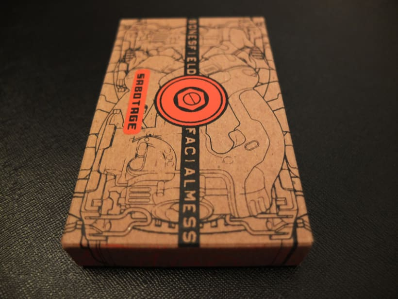 Cassette Special 100% PCW recycled chipboard 3