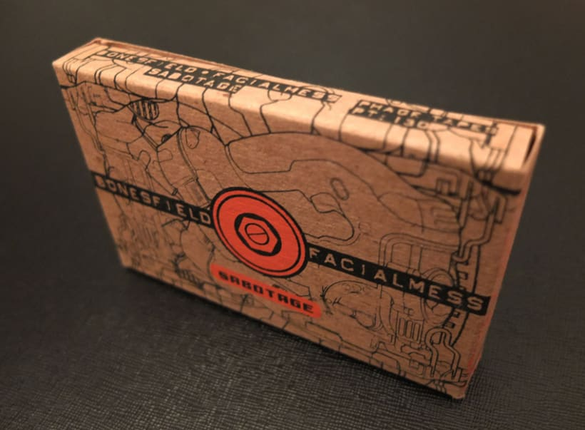 Cassette Special 100% PCW recycled chipboard 1