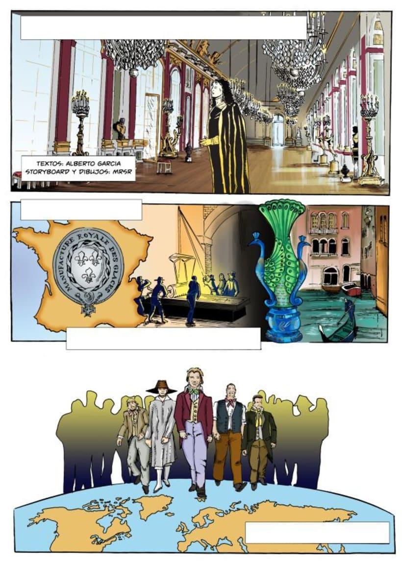 Insiders - Comic para Saint-Gobain 3
