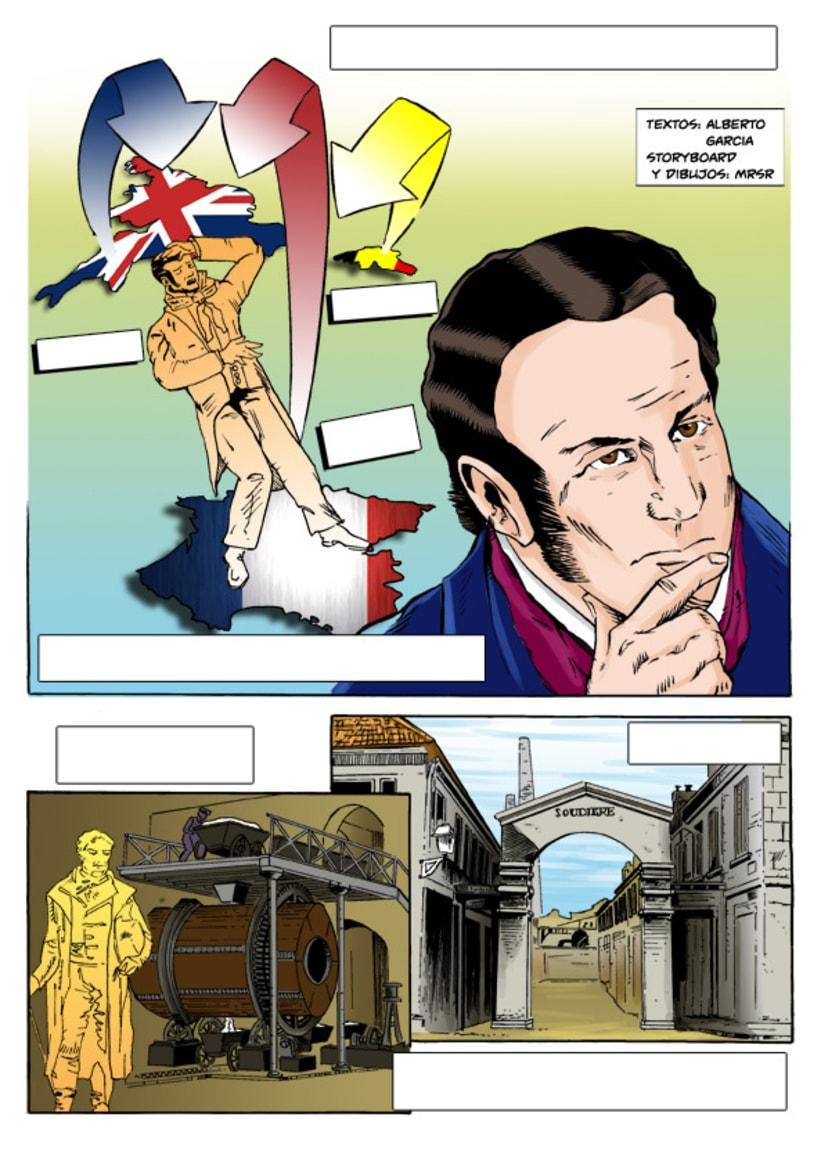 Insiders - Comic para Saint-Gobain 4