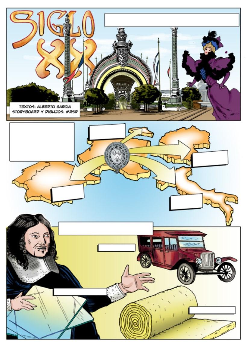 Insiders - Comic para Saint-Gobain 5