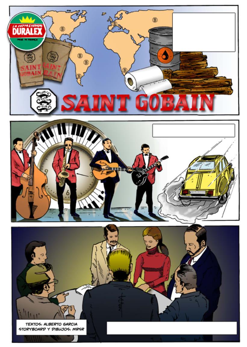 Insiders - Comic para Saint-Gobain 6