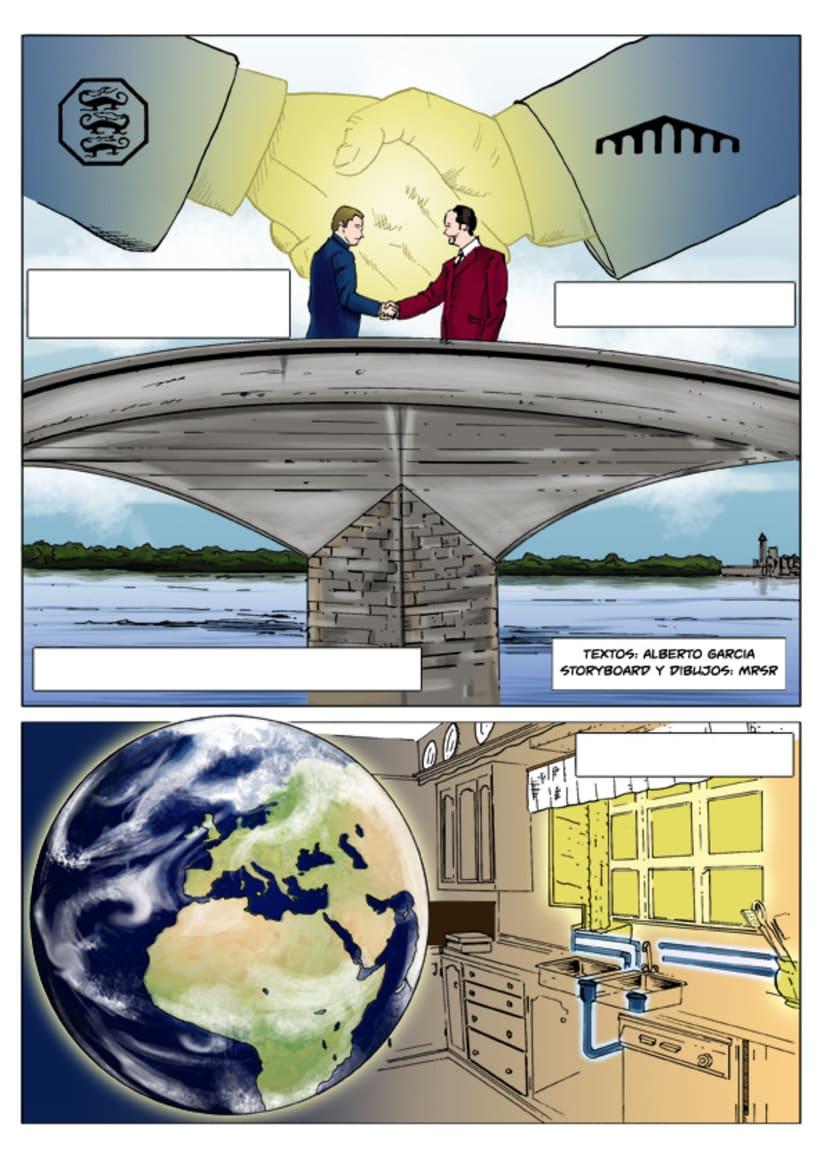 Insiders - Comic para Saint-Gobain 7