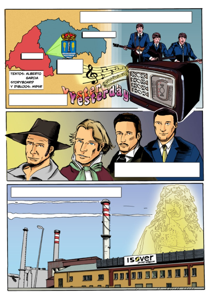 Insiders - Comic para Saint-Gobain 8
