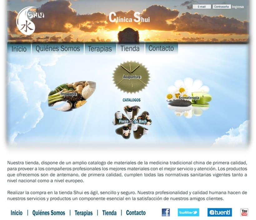 Diseño interior Página web 2