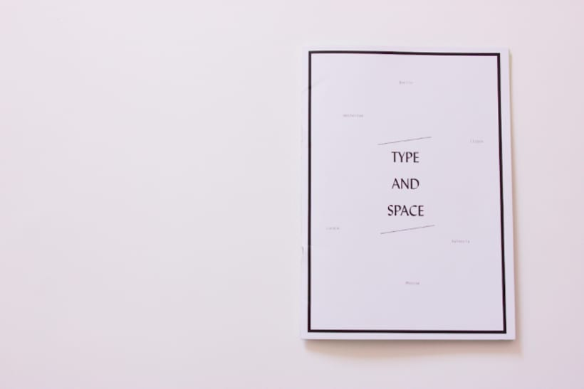 Type and Space 1