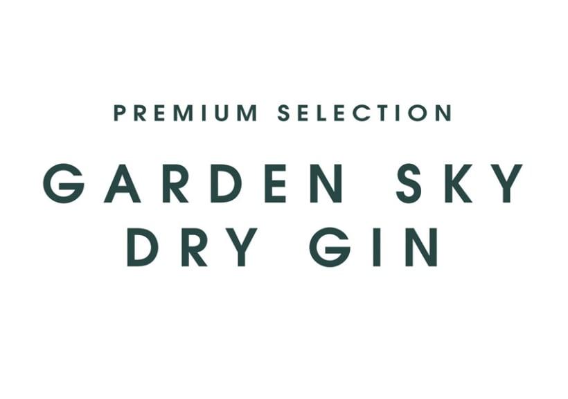 GardenSky dry gin 2