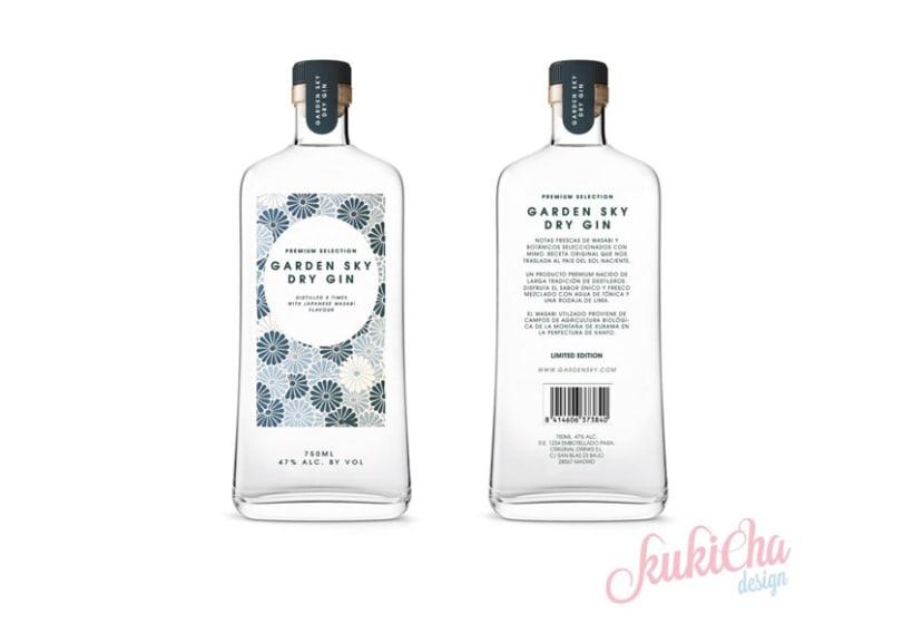 GardenSky dry gin 1