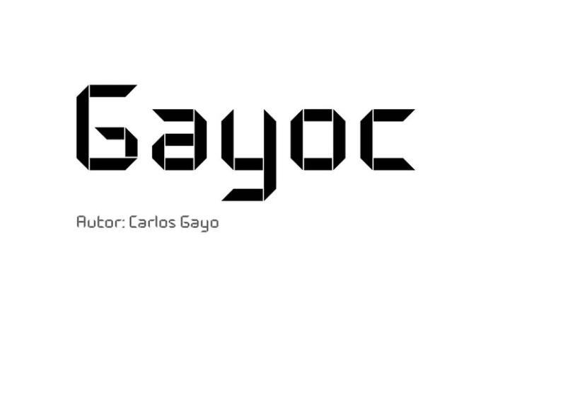 Tipografía modular 2