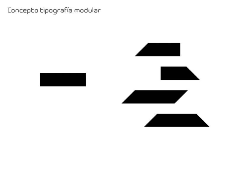 Tipografía modular 3