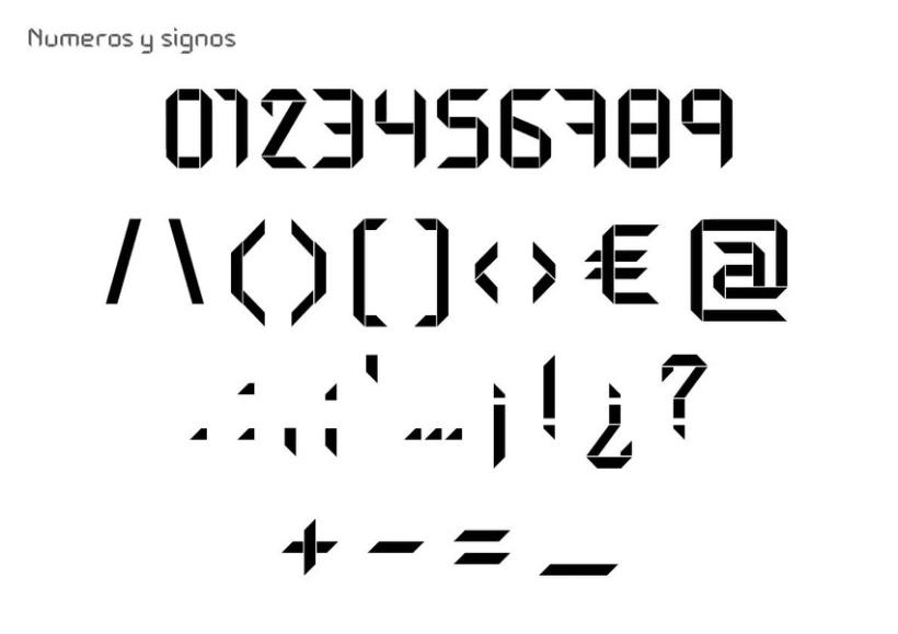 Tipografía modular 6