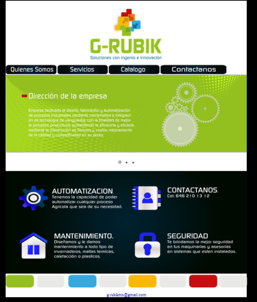 Página Web  2