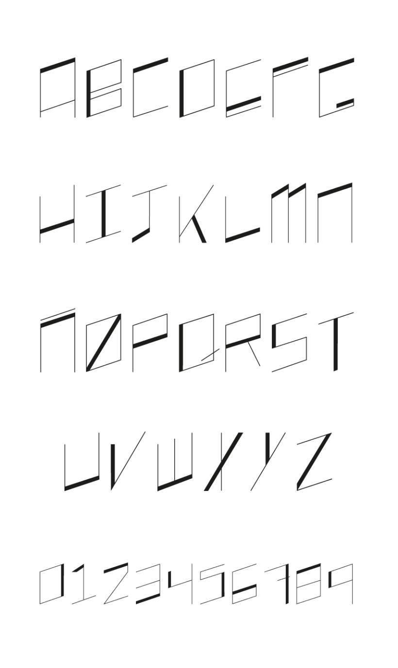 QUATRO4 font 1